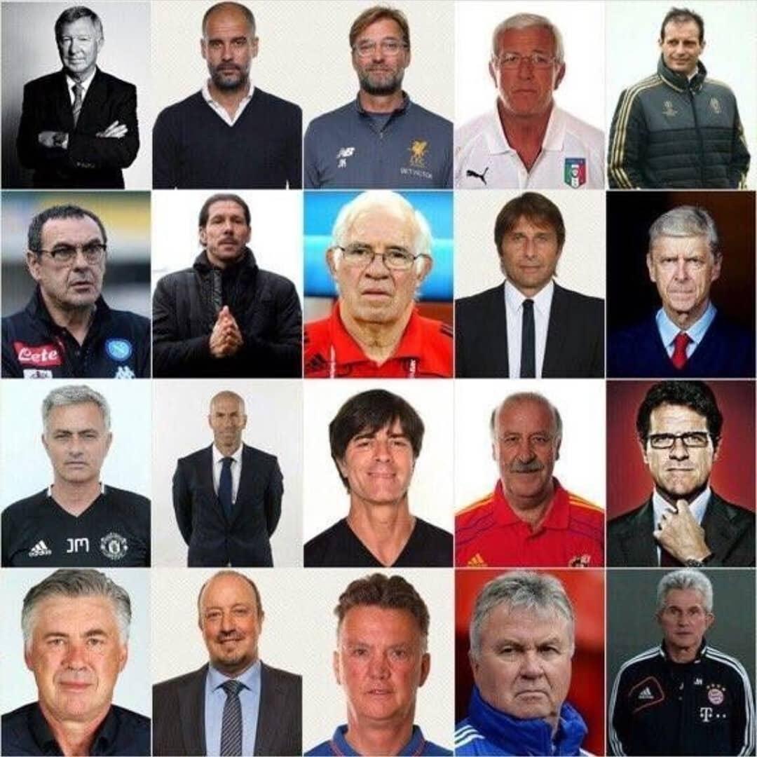 世界级20大名帅,谁还能救国足?  足球话题区